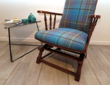Rocking Chair :: Ecossais 100% laine